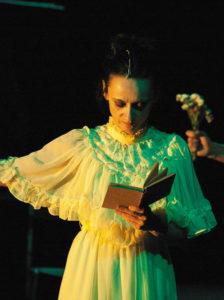 Angélica Liddell dans Todo el cielo sobre la tierra (El síndrome de Wendy)