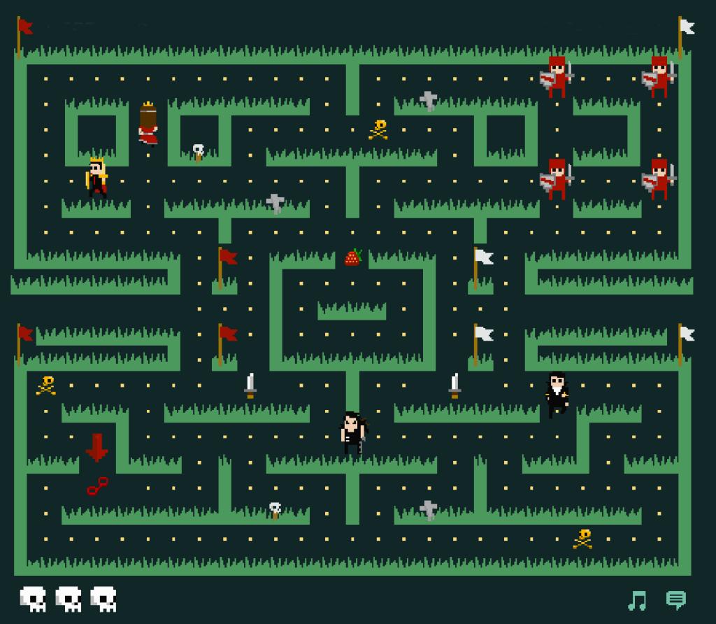Capture d'écran du jeu Richard III Attacks