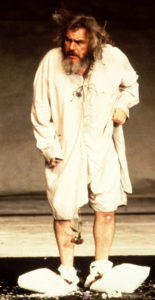 Brian Cox dans le rôle du roi Lear