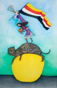 """pascALEjandro, """"Ré-évolution alchimique"""", 2016. Œuvre présentée à la Galerie Azzedine Alaïa jusqu'au 9 juillet, dans l'exposition """"pascALEjandro, L'Androgyne alchimique"""". Copyright: pascALEjandro. Photographie: Dennis Bouchard."""