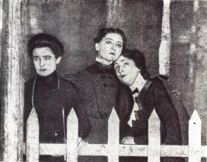 Les Trois Sœurs, création du spectacle en 1901