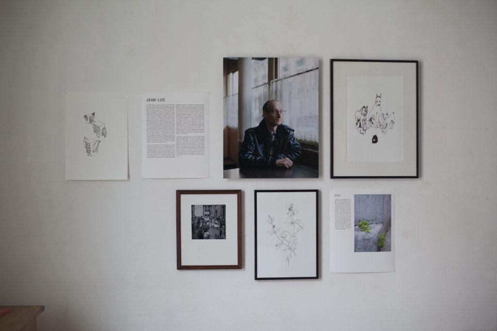 Portrait de Jean-Luc. Chez Madeleine.