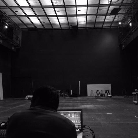 ©Roxanne Antilogus « Nous répétions cette fois ci non pas sur un plateau, mais dans une salle de répèt'. »