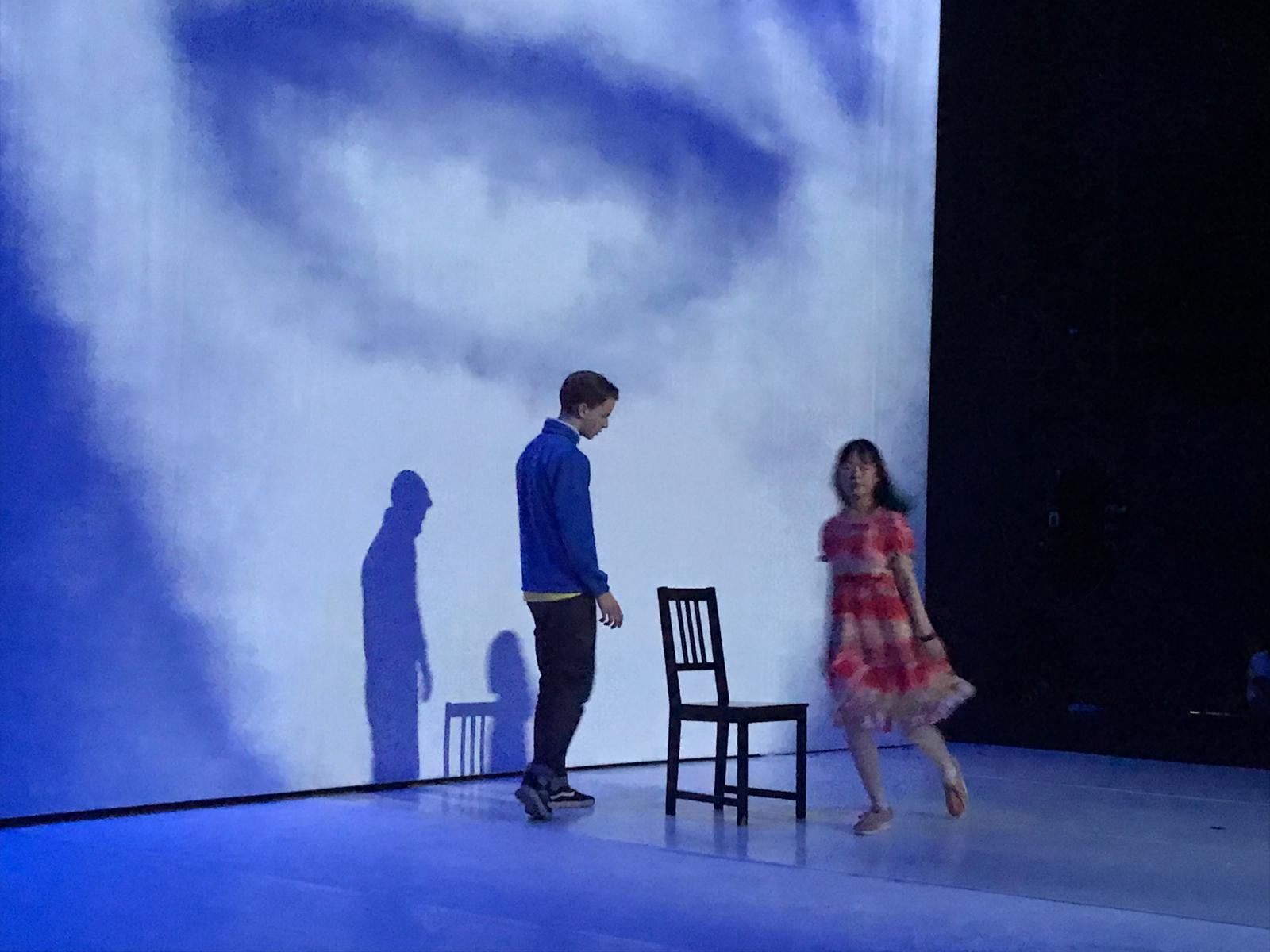 «Le processus de création n'est toujours pas fini, nous avons encore fait des improvisations pour enrichir le spectacle et trouver des transitions entre certaines scènes.» © Charlotte Vuagnat